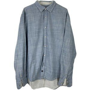 7 Diamonds Pearl Snap Western LS Shirt Men Sz XL